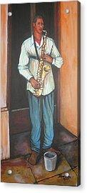Saxophone 1 Acrylic Print