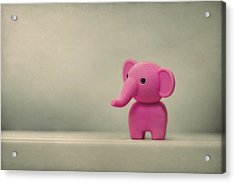 Say Hello To My Little Friend Acrylic Print by Evelina Kremsdorf