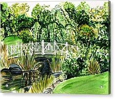Sayen Bridge Acrylic Print