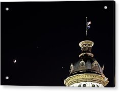 Sc State House Dome And Conjunction Acrylic Print