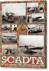 Scadta Airline Poster Acrylic Print
