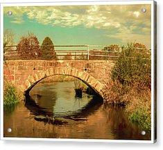 Scandinavia Stone Bridge 1 Acrylic Print by Trey Foerster