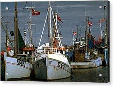 Scandinavian Fisher Boats Acrylic Print