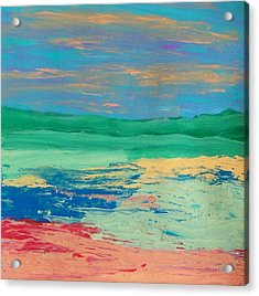 Scape Acrylic Print by Helene Henderson