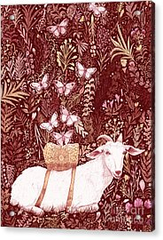 Scapegoat Healing Tapestry Print Acrylic Print