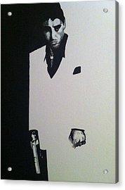 Scarface  Acrylic Print by Davor Sintic
