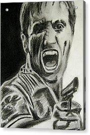 Scarface Acrylic Print by James Dolan