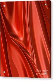 Scarlet Flow Acrylic Print