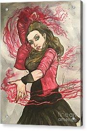 Scarlet Witch  Acrylic Print