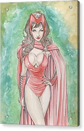 Scarlett Witch Acrylic Print