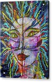 Scarred Beauty Acrylic Print