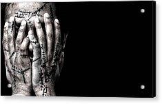 Scars Acrylic Print