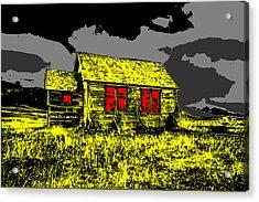 Scary Farmhouse Acrylic Print