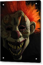 Acrylic Print featuring the photograph Scary by Kim Pascu