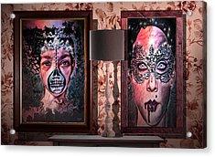 Scary Museum Wallart Acrylic Print
