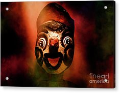 Scary Side Show Puppet Acrylic Print by Jorgo Photography - Wall Art Gallery