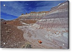 Scattered Fragments Acrylic Print by Gary Kaylor