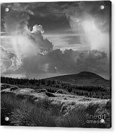Scattering Clouds Over The Cronk Acrylic Print