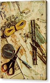 Scene From A Fifties Craft Room Acrylic Print