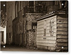 Scene From Yesteryear #1 Acrylic Print by Andrew Crispi