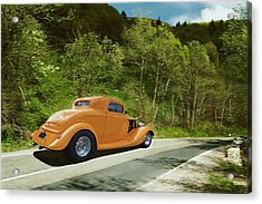 Acrylic Print featuring the photograph Scenic Drive by Steven Agius