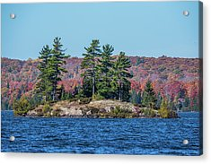 Acrylic Print featuring the photograph Scenic Fall View by Paul Freidlund