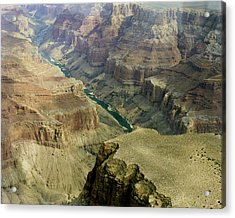 Scenic Grand Canyhon And Colorado River Acrylic Print