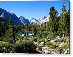 Scenic Mountain View Acrylic Print by Chris Brannen