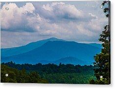 Scenic Overlook - Smoky Mountains Acrylic Print by Barry Jones