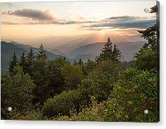 Scenic Smoky Mountains Acrylic Print