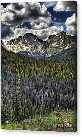 Scenic View From The Highway Acrylic Print
