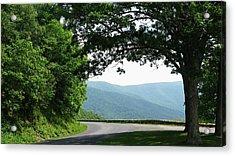 Scenic View Acrylic Print by Joyce Kimble Smith