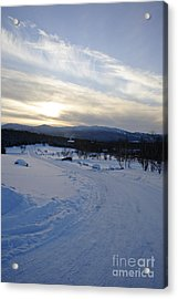 Scenic Vista From Marshfield Station In The White Mountains New Hampshire Usa Acrylic Print by Erin Paul Donovan
