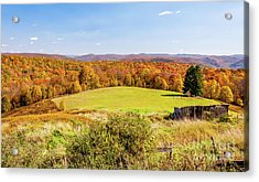 Scenic West Virginia Autumn Countryside Acrylic Print
