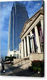 Schermerhorn Symphony Center Nashville Acrylic Print by Susanne Van Hulst