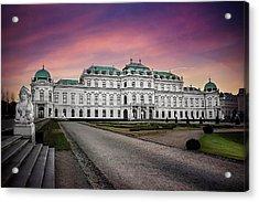 Schloss Belvedere Vienna Acrylic Print
