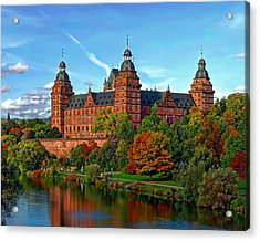 Schloss Johannisburg Acrylic Print