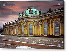 Schloss Sanssouci Potsdam  Acrylic Print by Carol Japp