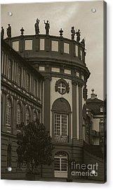 Schlosspark Biebrich Acrylic Print