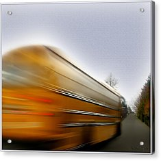 School Bus Acrylic Print