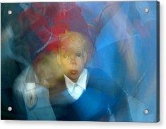 School Disco Acrylic Print by Jez C Self