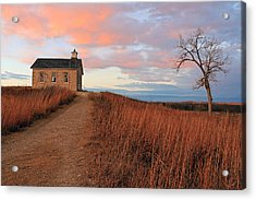 School House Road Acrylic Print