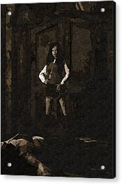 Schoolgirl Revenge Acrylic Print