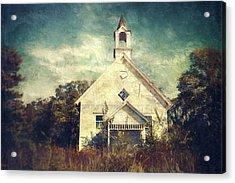 Schoolhouse 1895 Acrylic Print by Scott Norris