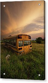 Acrylic Print featuring the photograph School's Out  by Aaron J Groen
