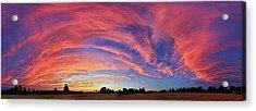 Schoolyard Sunset 2 Acrylic Print