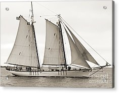 Schooner Harvey Gamage Of Islesboro Maine Acrylic Print