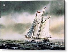 Schooner Heritage Acrylic Print by James Williamson
