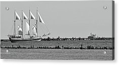 Schooner On Lake Michigan No. 1-1 Acrylic Print