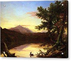 Schroon Lake 1840 Acrylic Print